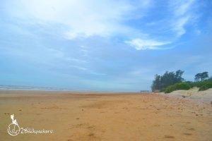sea beach at Baguran-Jalpai - offbeat weekend destination from Kolkata