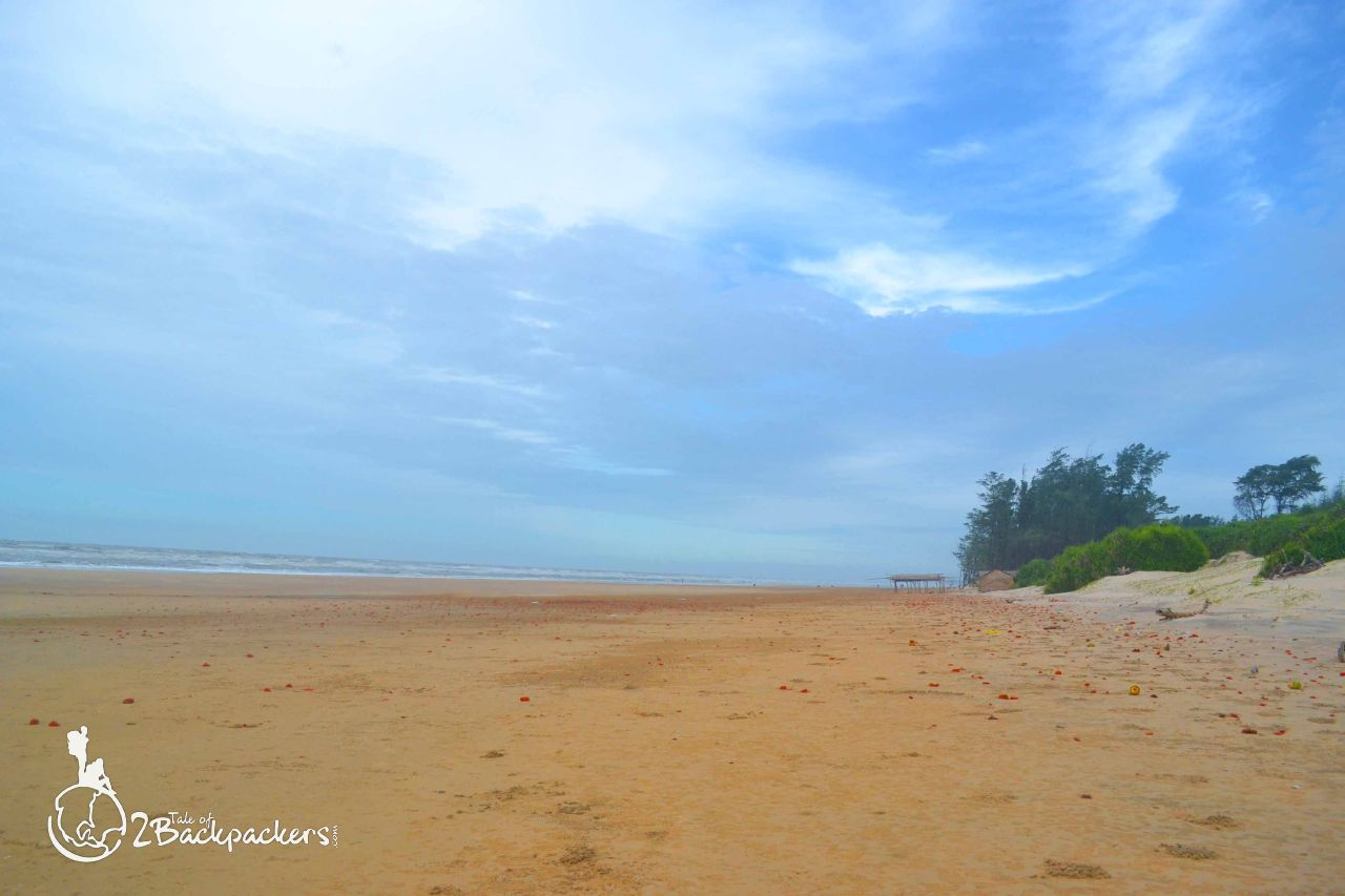 sea beach at Baguran-Jalpai - offbeat weekend destination from Kolkata