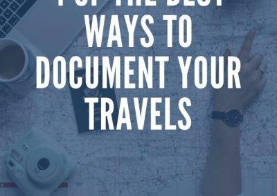 how to start travel blogging