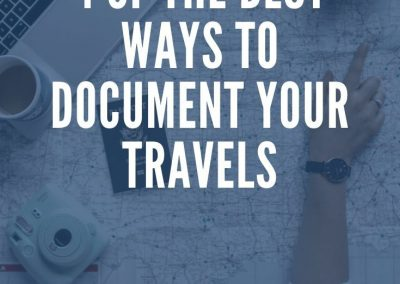 how to start travel blogging