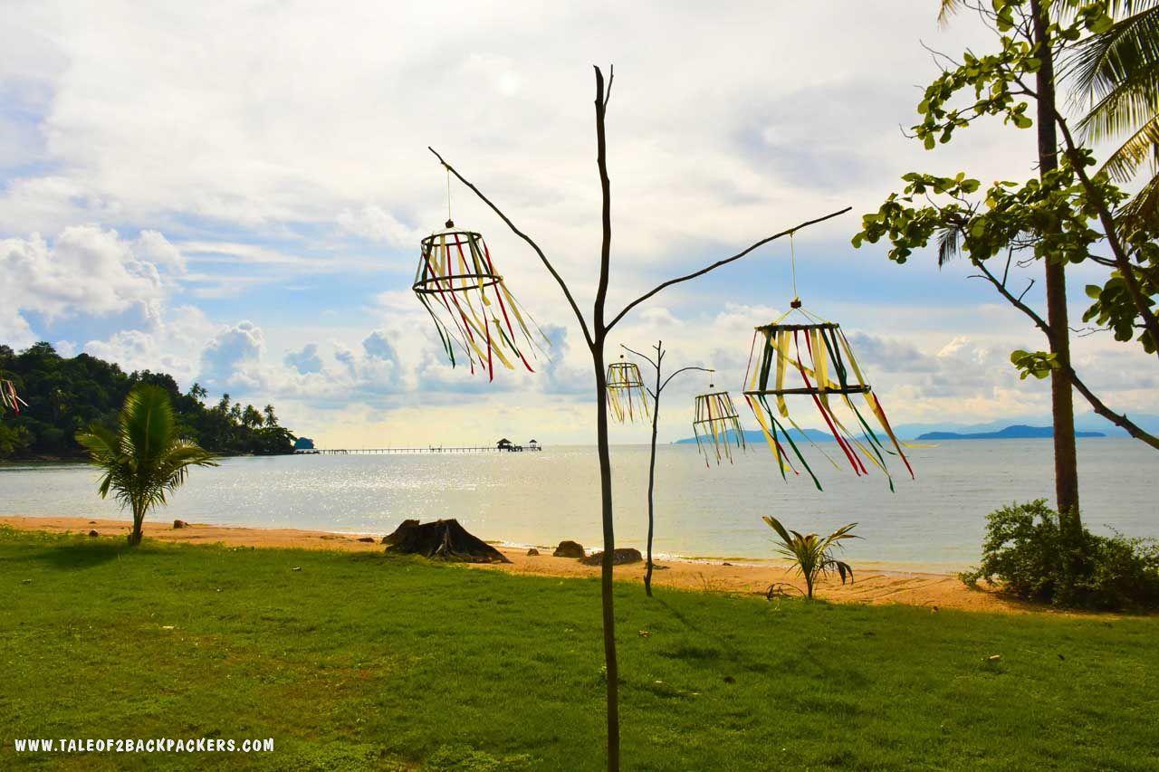 Beach at Koh Mak-Thailand