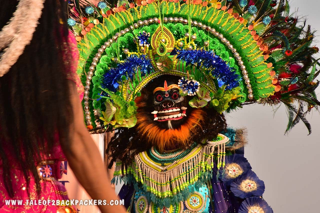 Chhau Dance- masked dance of India