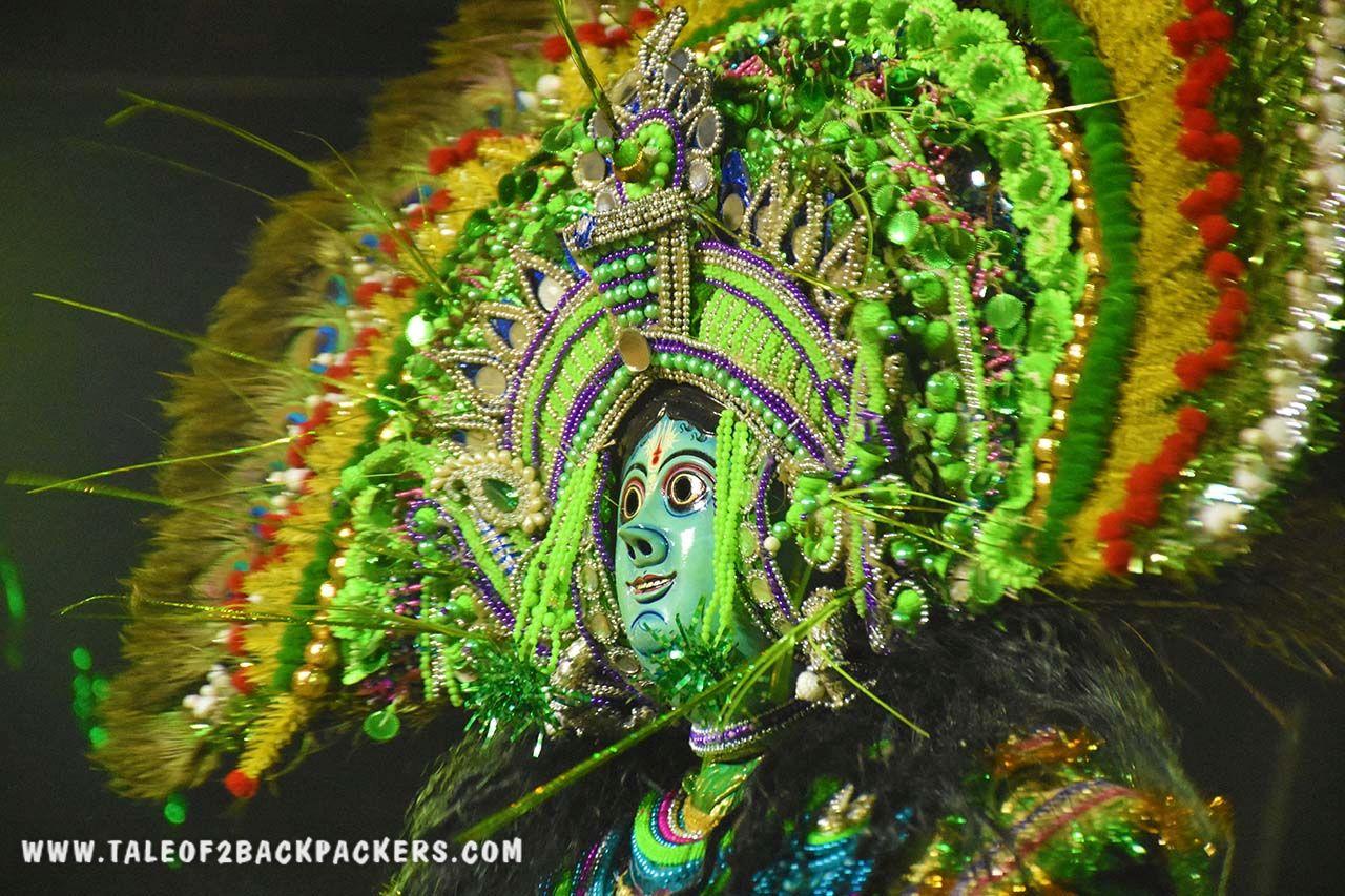 Mask of Krishna - Purulia Chhau mask