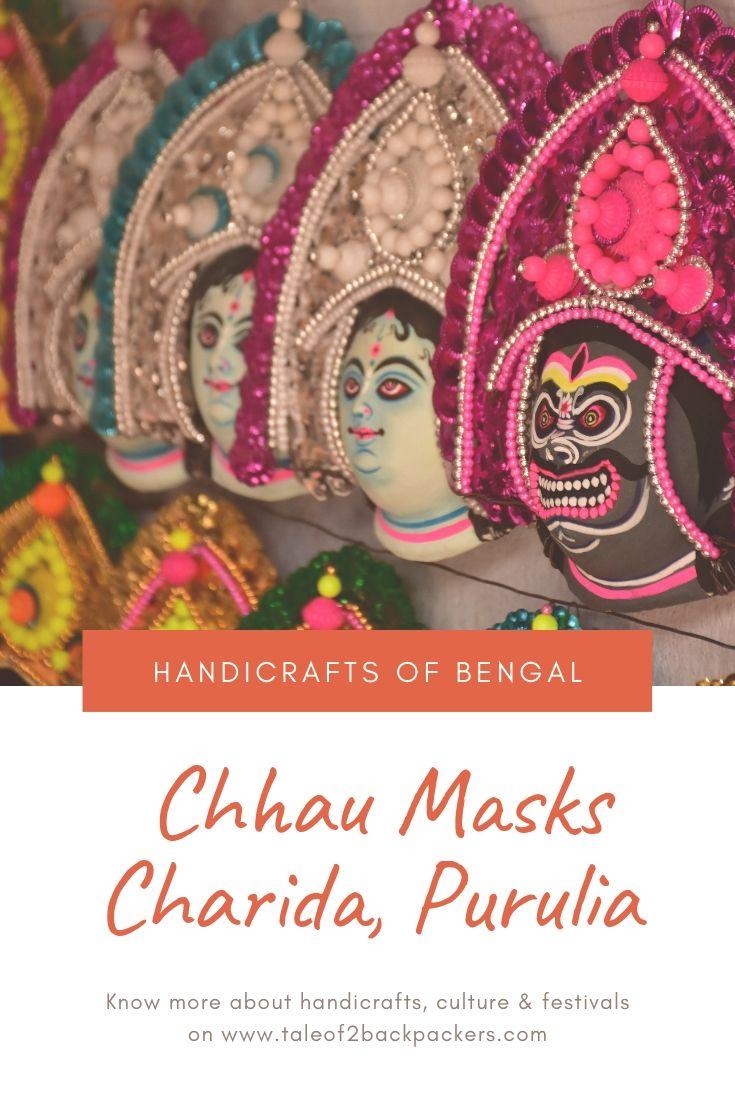 Chhau masks - Purulia Chhu dance masks