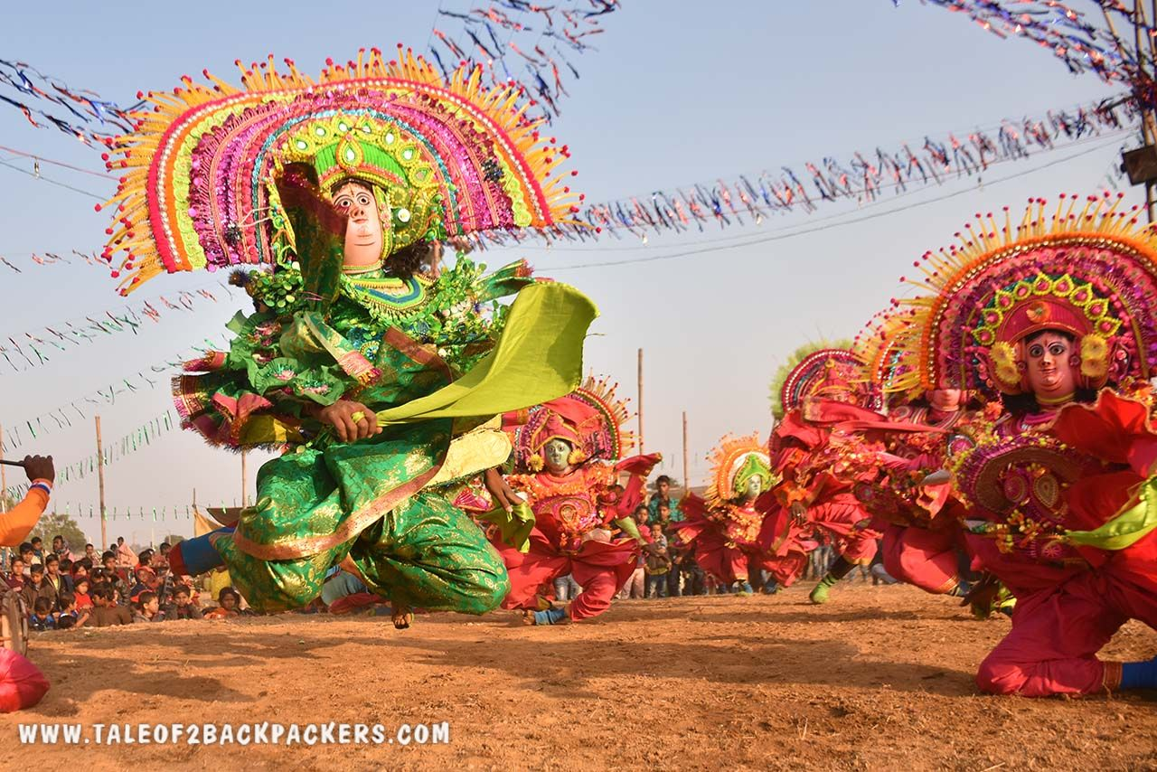 Purulia Chhau dance is a masked dance of BEngal