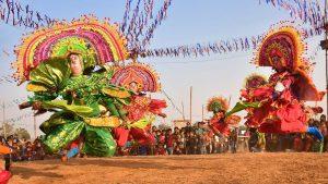 Purulia Chhau Dance at Chhau Jhumur Utsav in Purulia