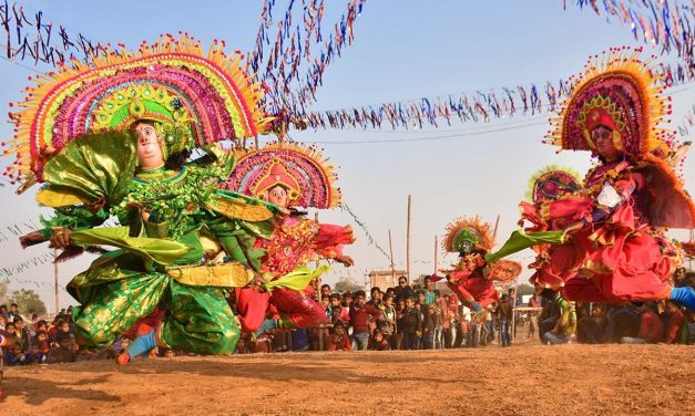 Purulia Chhau Dance and Chhau Mask : A Tryst at the Chhau-Jhumur Utsav