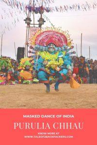 Masked dance of India - Purulia Chhau dance