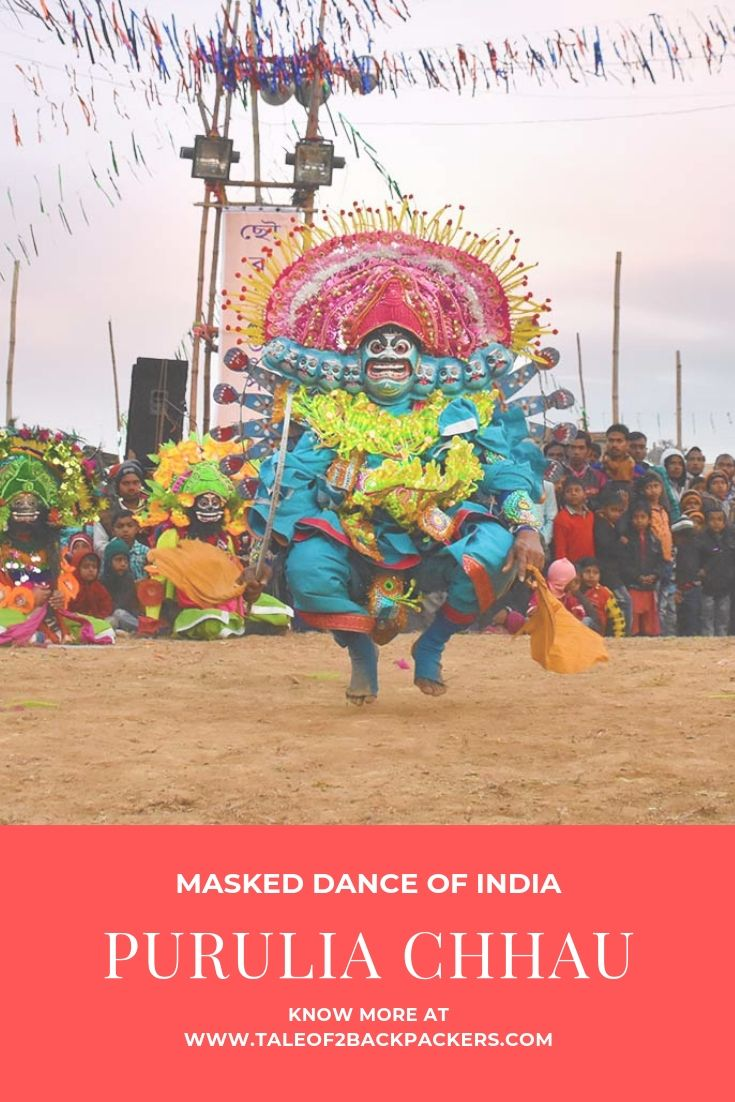 Masked dance of India - Purulia Chhau dance