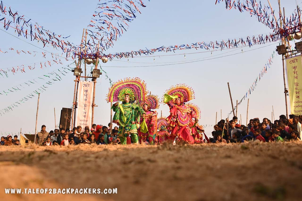 Purulia Chhau dance and Purulia Chhau mask