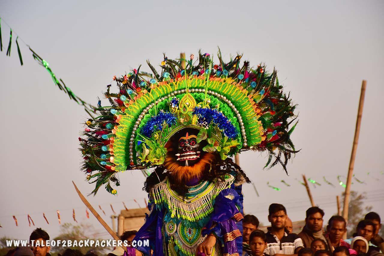 Purulia Chhau dance mask