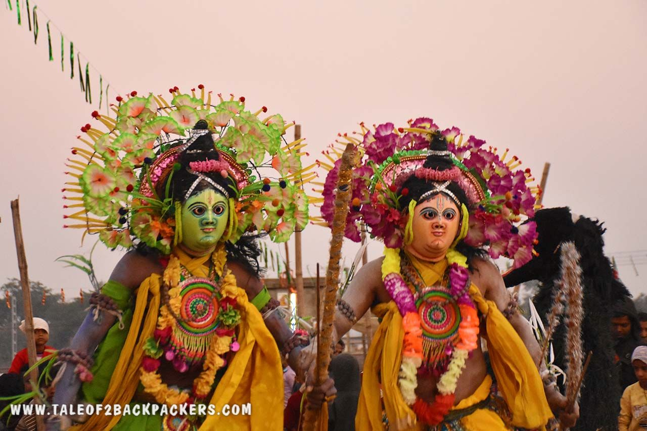 Ram and Laxman at Chhau dance performance