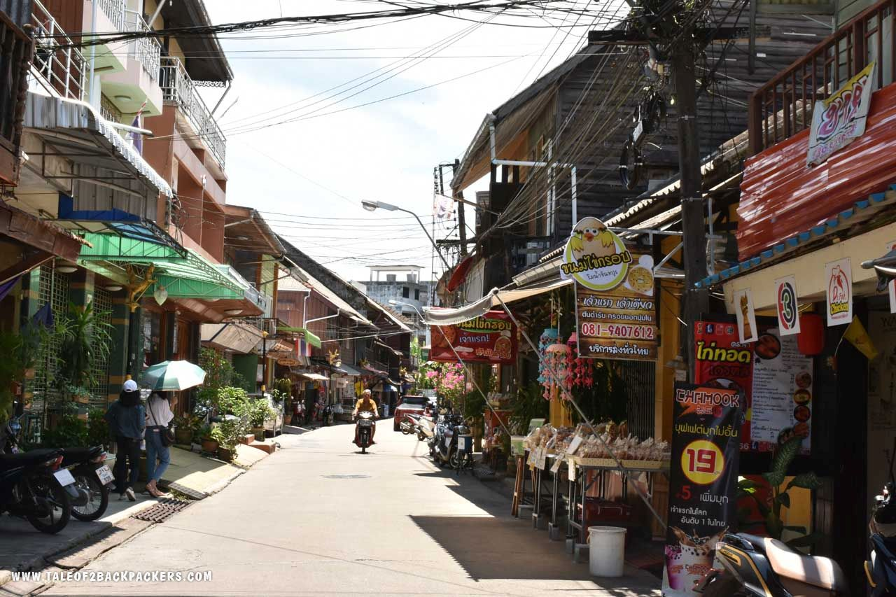 Chanthaburi Old Town area - unique places to visit in Thailand