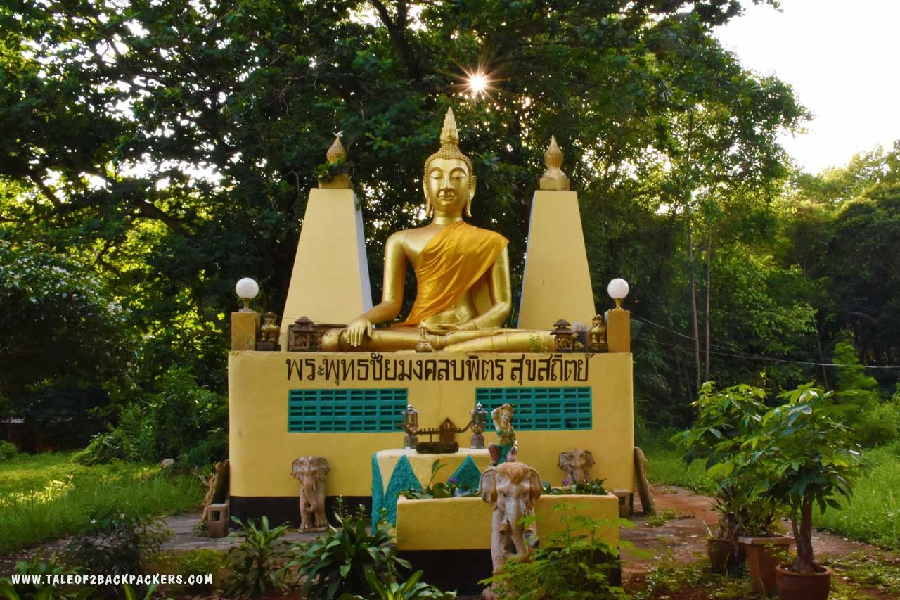 Buddha shrine at Koh Mak