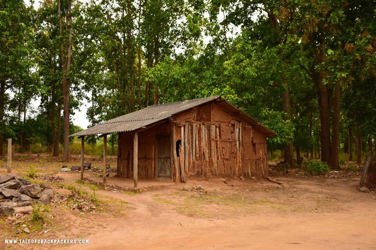 Tribal village at Daringbadi