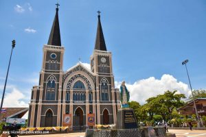 Cathedral of Immaculate Conception at Chanthaburi - offbeat places to visit in Thailand