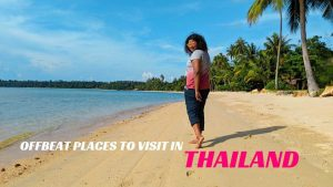 At Koh Mak beach - offbeat places to visit in Thailand