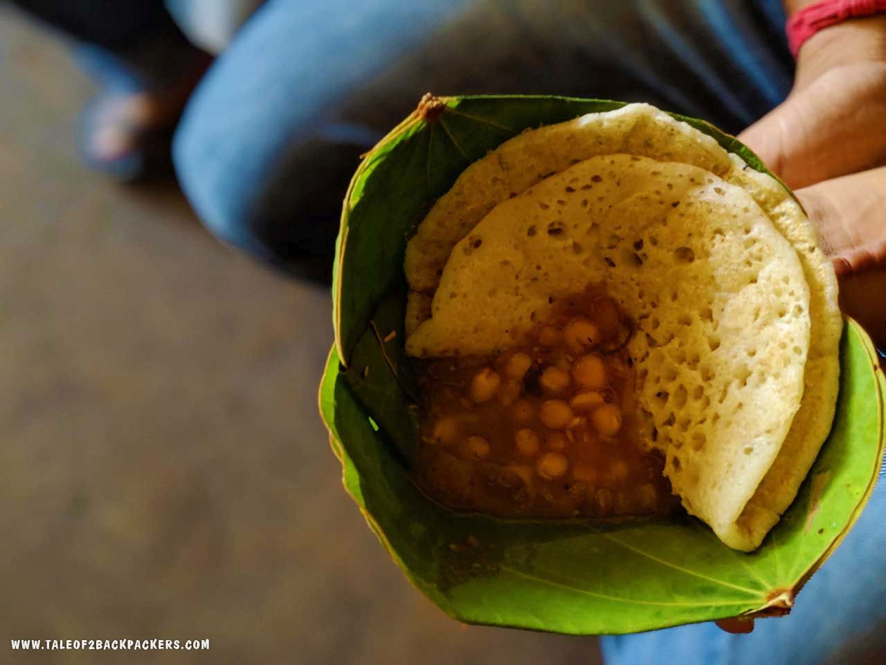 breakfast at Daringbadi - street food of Odisha