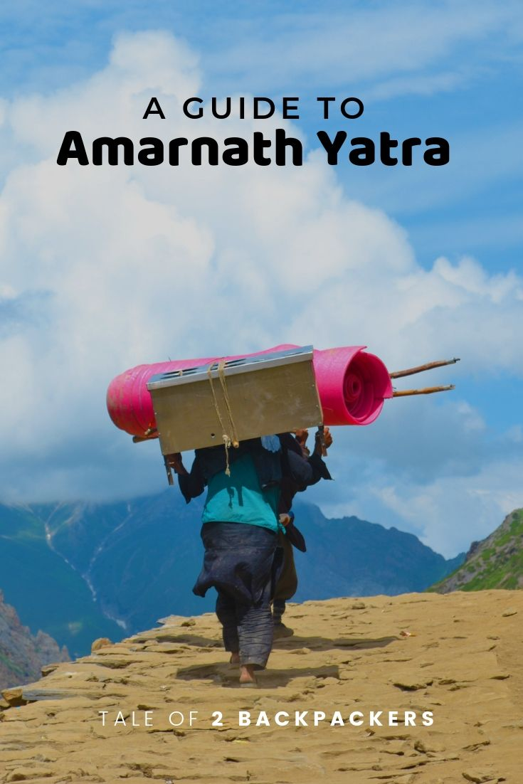 A guide to Amarnath Yatra - pinterest