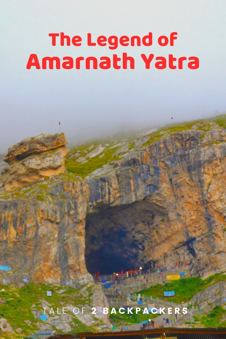 Amarnath gufa view