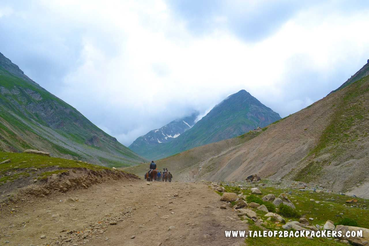 Amarnath yatra trek route