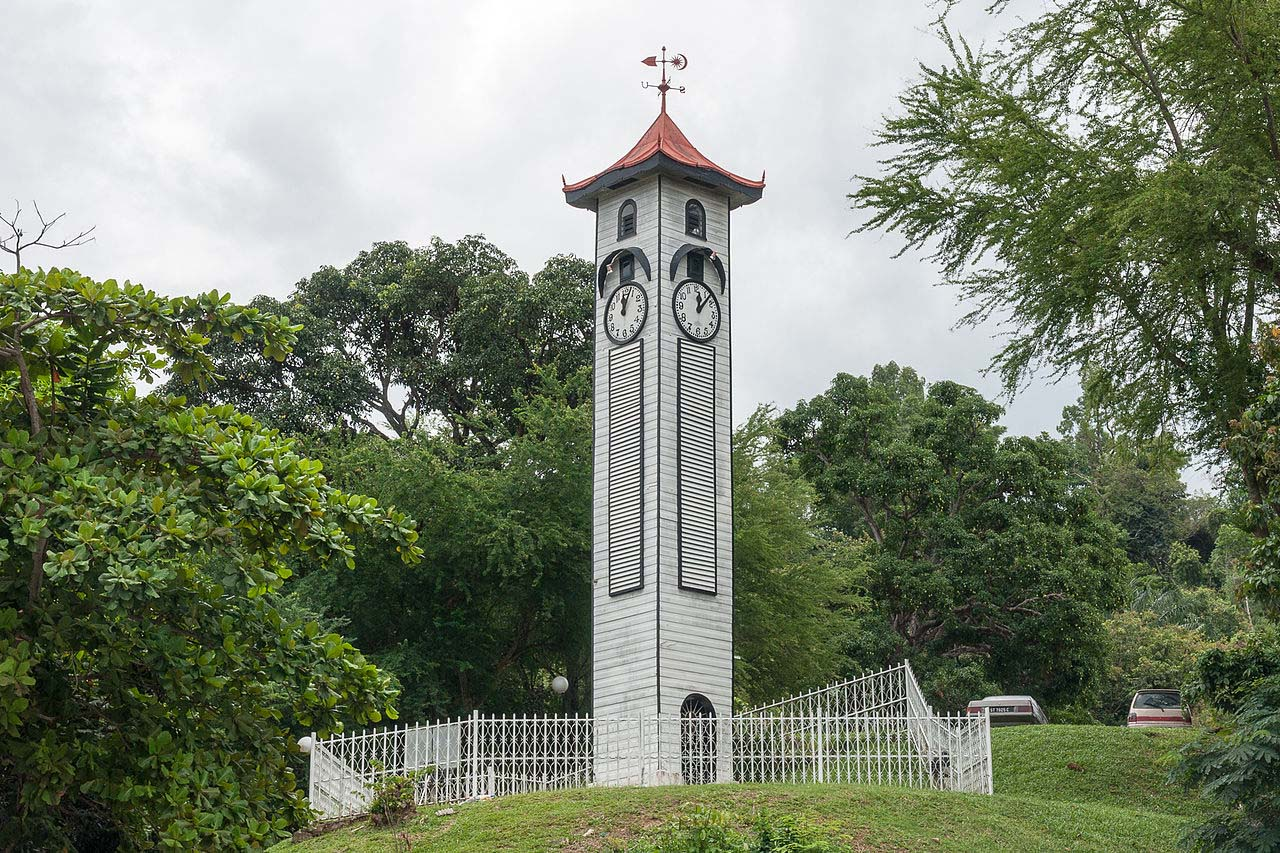 Atkinson Tower is one of the oldest standing building at Kota Kinabalu