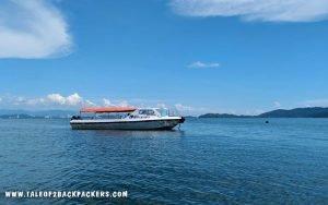River cruise in Kota Kinabalu