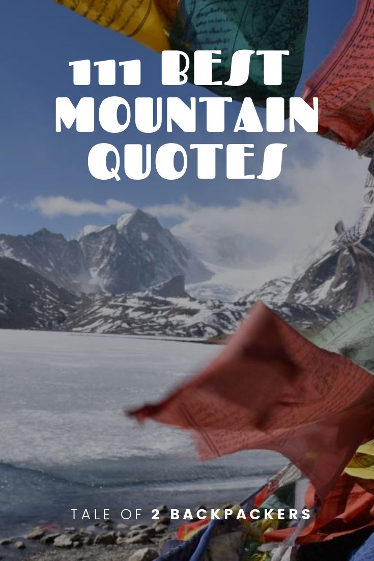 Best Mountain Quotes to Inspire