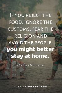 Best Travel Quotes by James Michener