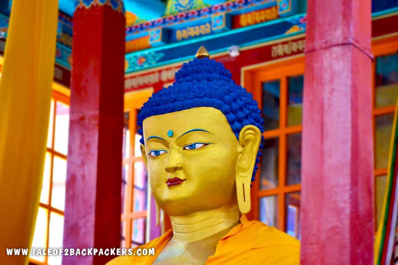 Buddha statue at a Ladakh Monastery
