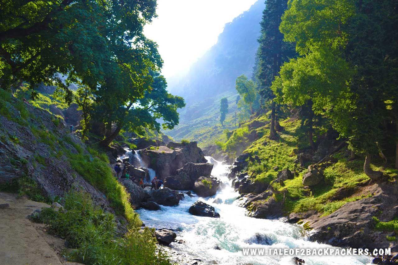 Lidder River at Chandanwari
