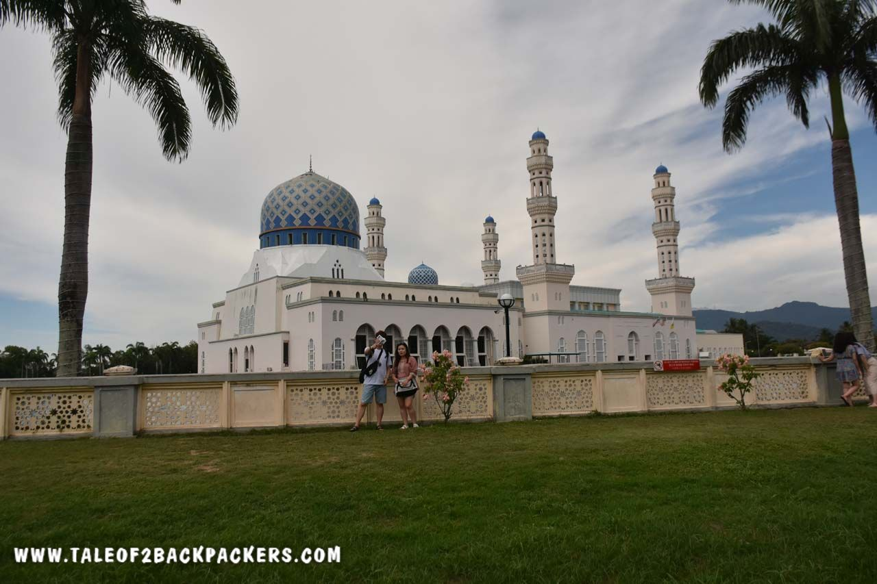 City mosque or Floating Mosque at Kota Kinabalu