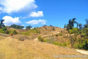 trekking trail to Sandakphu