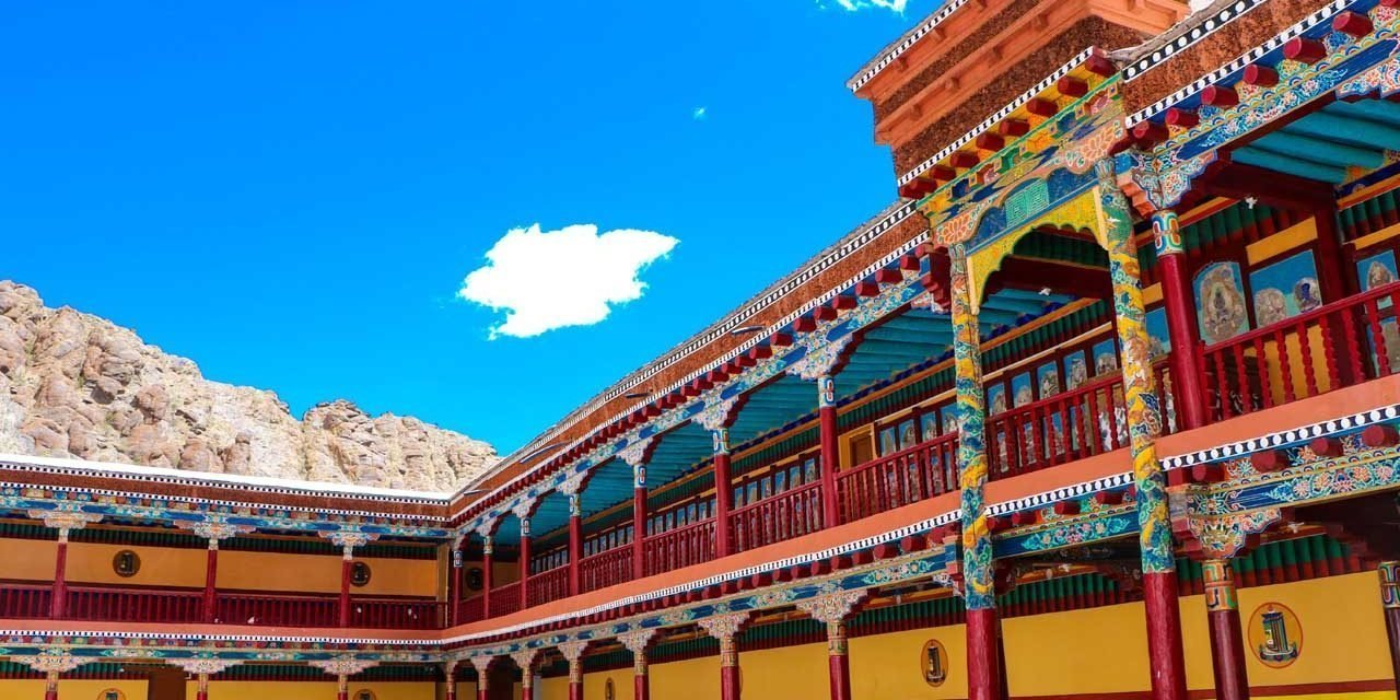 The Hemis Monastery – Ladakh