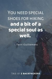 Hiking Sayings and hiking quotes