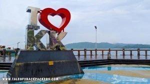 love KK Sign-things to do in Kota Kinabalu