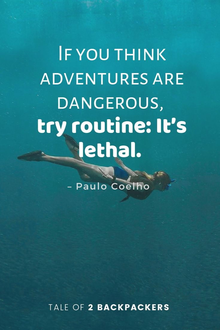 Paulo Coelho travel quotes