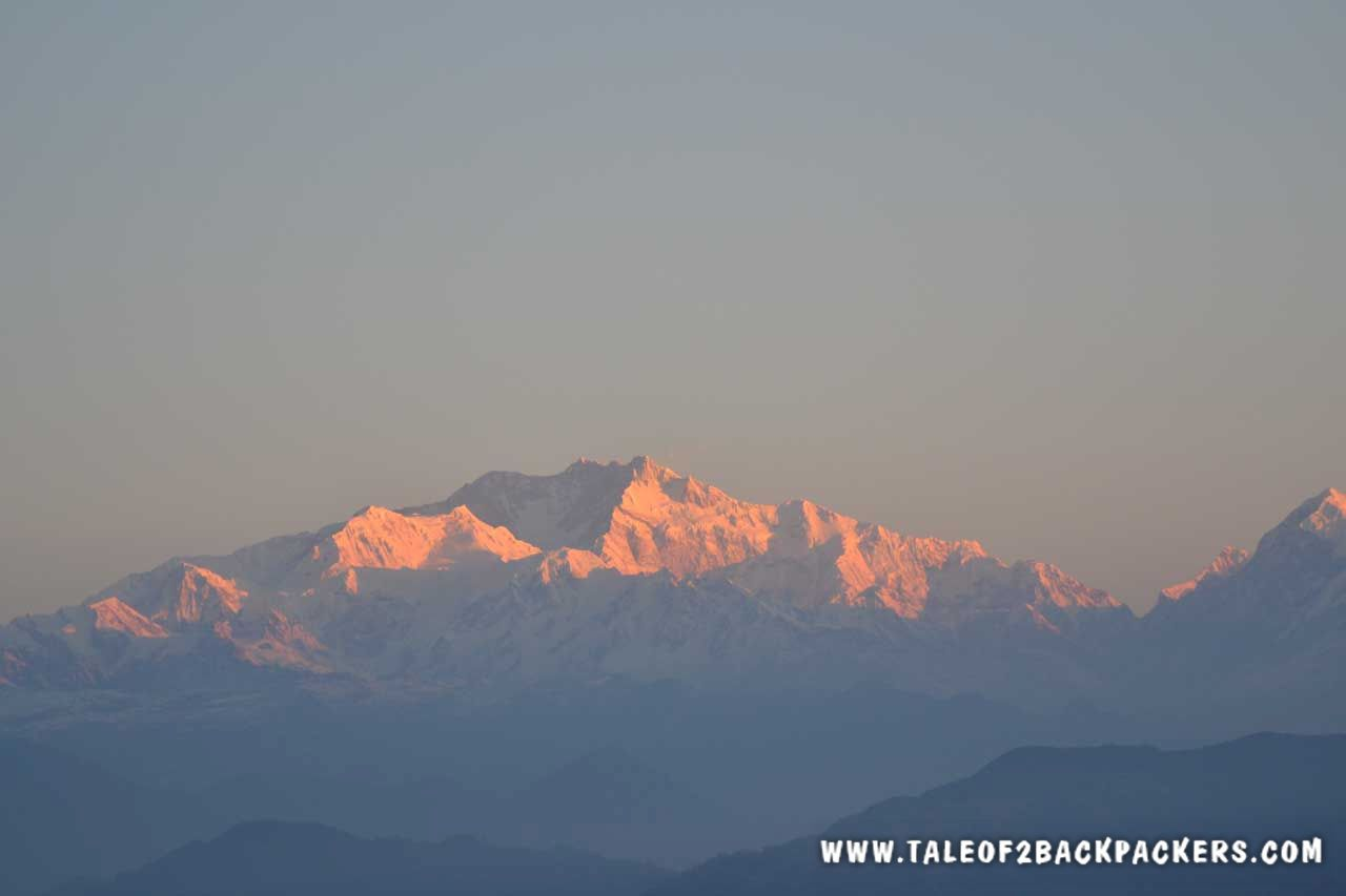 Kanchenjuga massif at Sandakphu