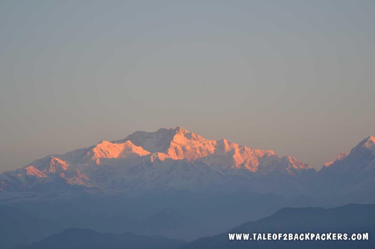 Kanchenjuga massif at Sandakphu