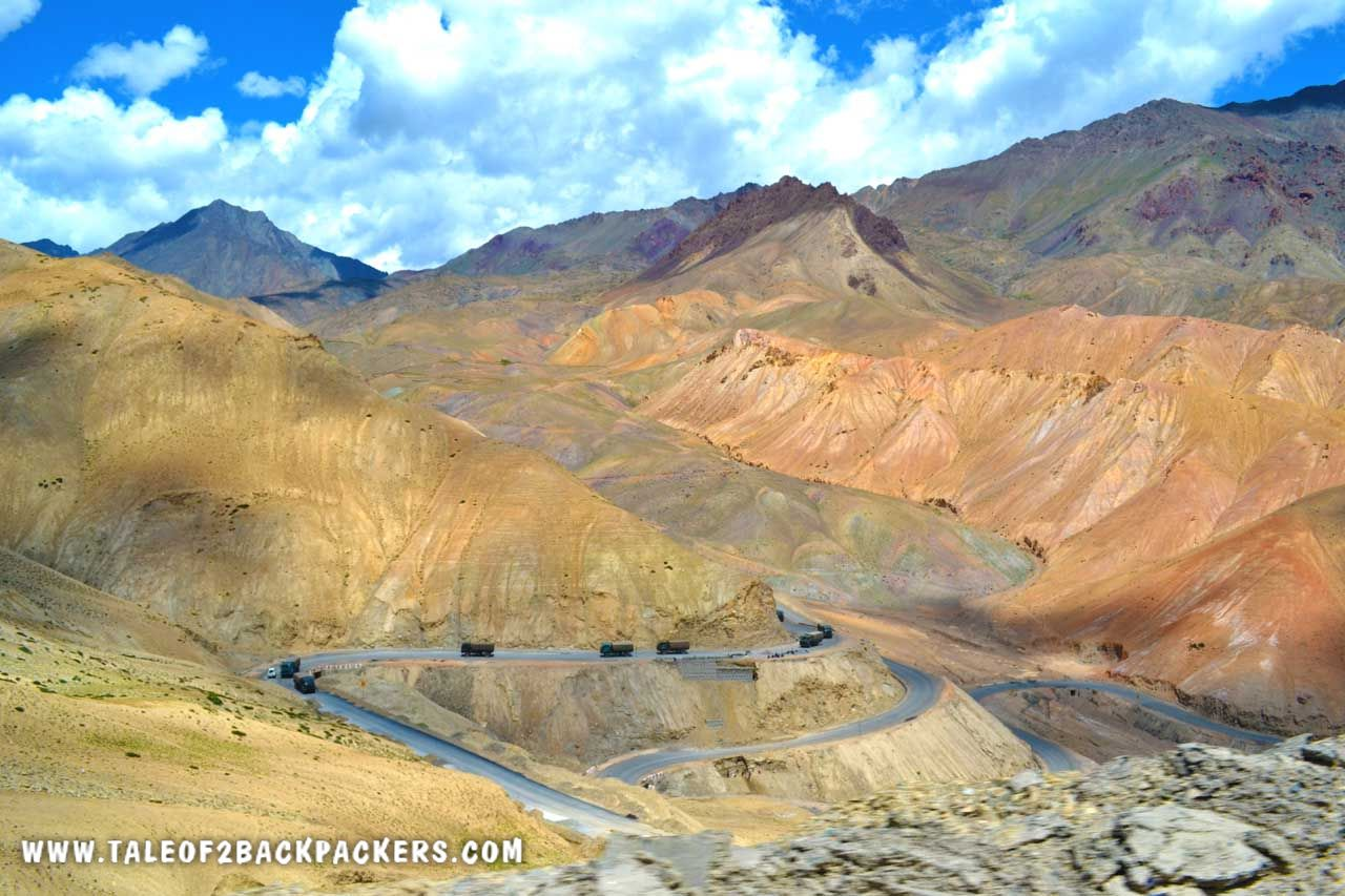 Ladakh roads - Ladakh trip plan