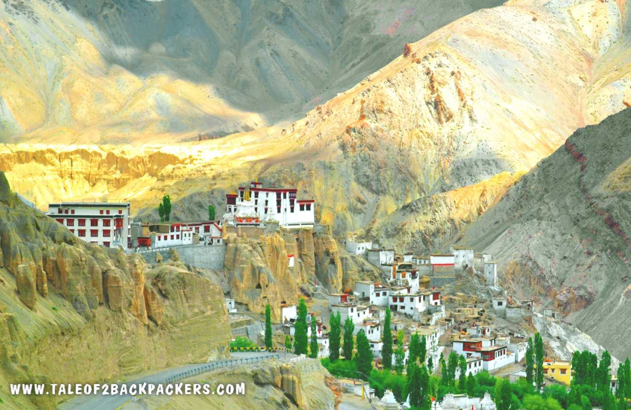 Lamayuru Monastery on Srinagar Leh Highway