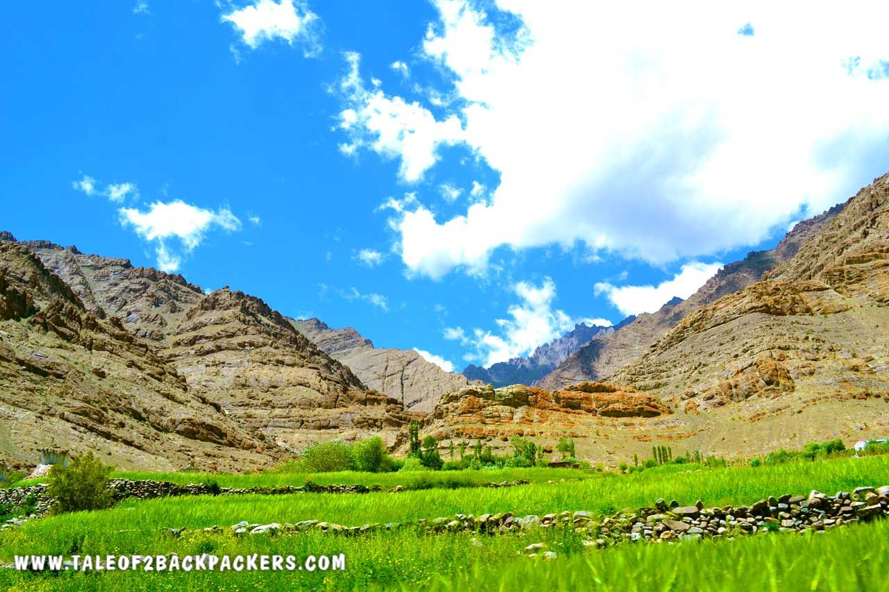 Landscape at Srinagar Leh Road