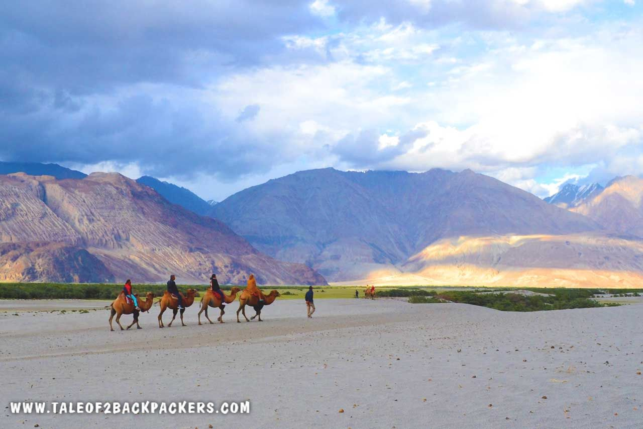 Nubra Valley on Ladakh bike trip