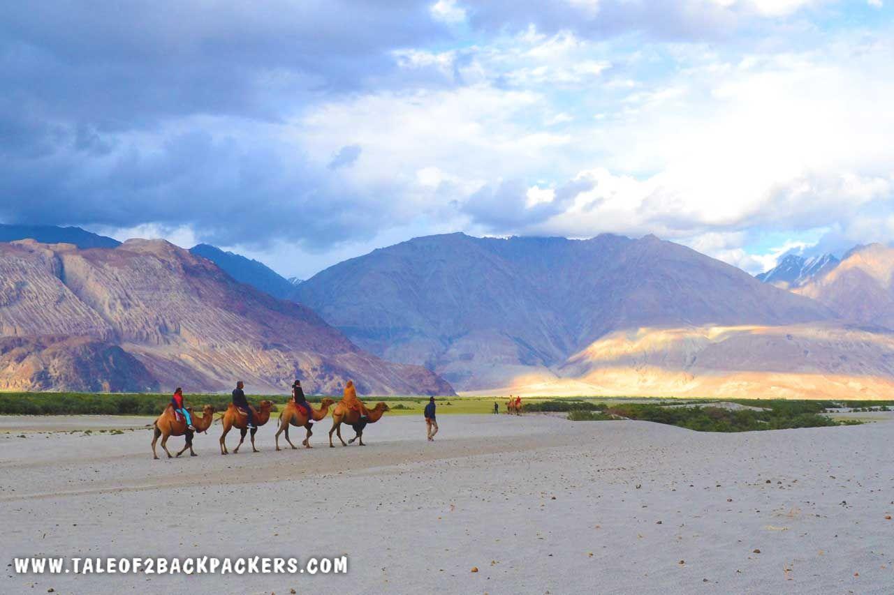 Nubra Valley on Ladakh bike trip