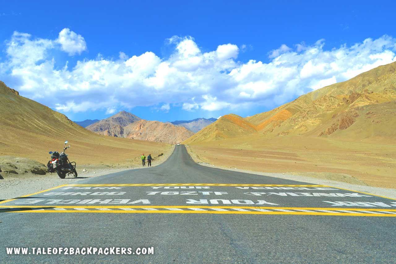 Magnetic Hill Ladakh on Sinagar Leh Highway