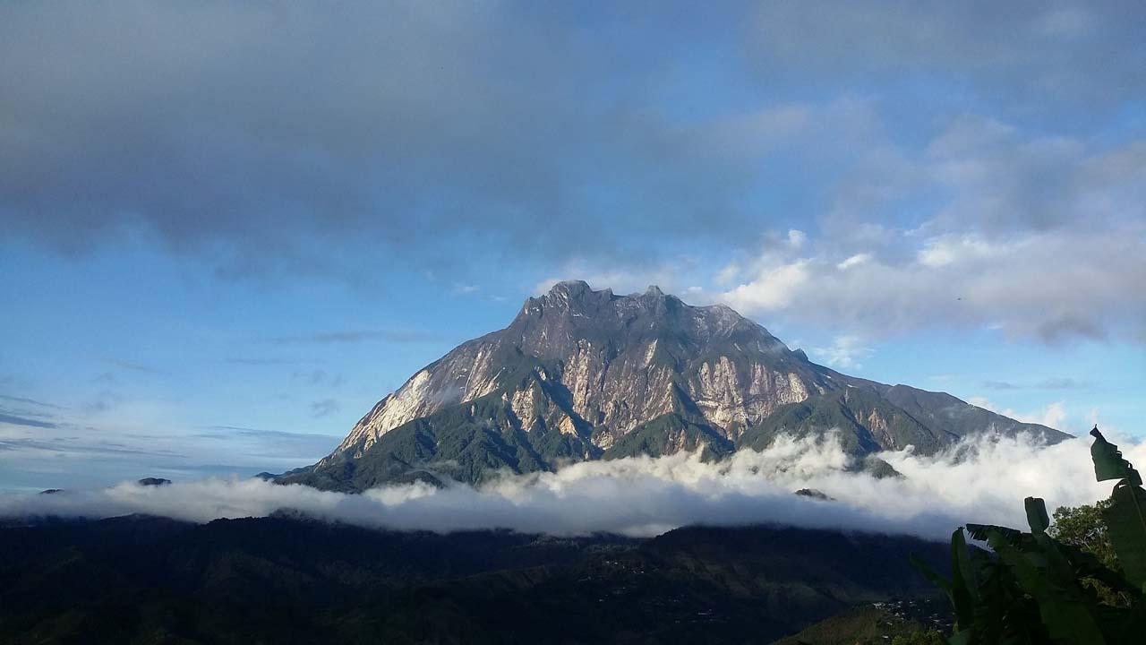 View of Mount Kinabalu