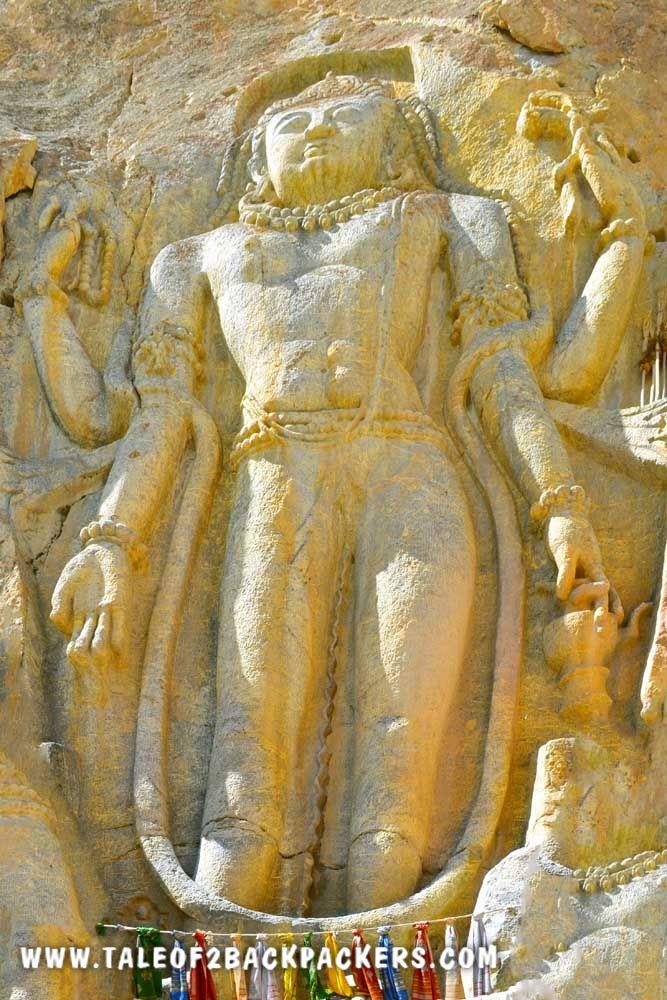 Maitreya Buddha at Mulbekh Monastery