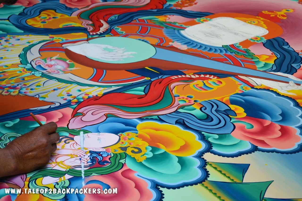 Murals at Ladakh Monasteries - Ladakh Trip Plan