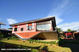 Rumah Terbalik or upside down house is one of the offbeat things to do in Kota Kinabalu