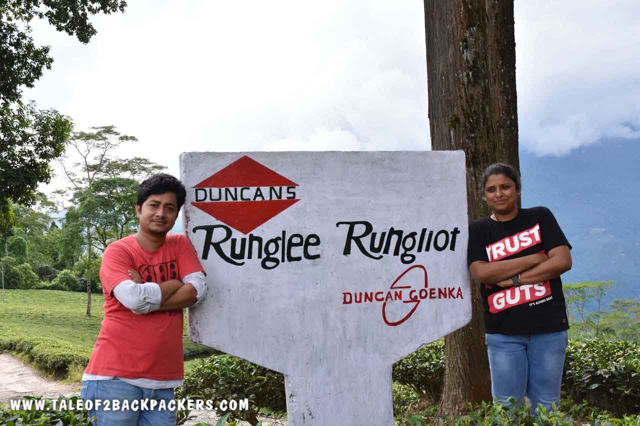 Runglee Rungliot Tea Estate, Takdah